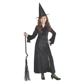 Spooktacular Black Witch Dress- Child Standard