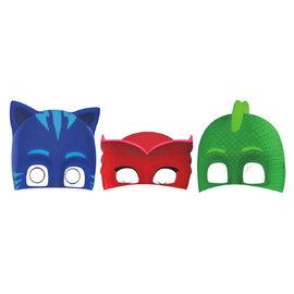 PJ Masks Paper Masks- 8ct