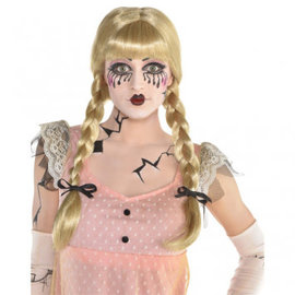 Creepy Doll Braided Wig