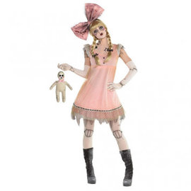 Creepy Doll Dress- Adult Standard