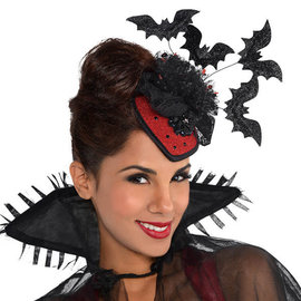 Vampire Clip-On Couture Hat