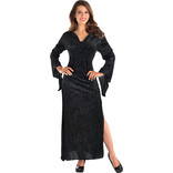Adult Spooktacular Black Witch Dress (#308)