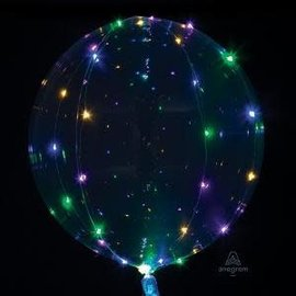 """Crystal Clearz with Multi-Color Lights, 18"""""""