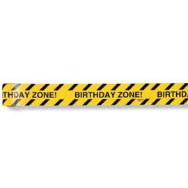 "Big Dig Construction Plastic ""Caution"" Warning Tape"