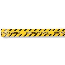 "Big Dig Construction Plastic ""Caution"" Warning Tape"