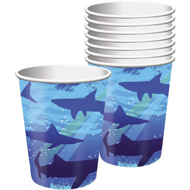 Shark Splash 9 oz Hot/Cold Cups, 8ct
