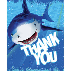 Shark Splash Thank Yous, 8ct