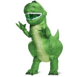 Childs Disney Toy Story 4- Rex Inflatable