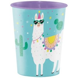 Llama Party Favor Cup, 16oz