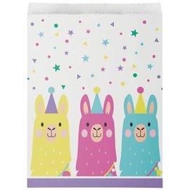 Llama Party Loot Bags, 10ct