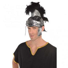 Trojan Feather Helmet