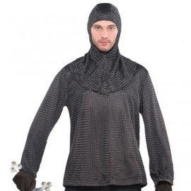 Chainmail Tunic and Hood- Men's Standard