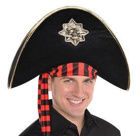 Pirate Skull and Bones Hat