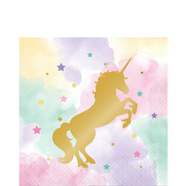 Unicorn Sparkle Luncheon Napkins, 16ct