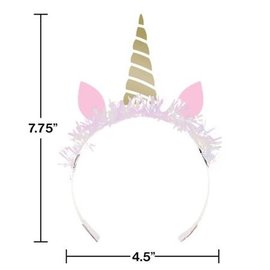Unicorn Sparkle Tiara with Fringe, 8ct