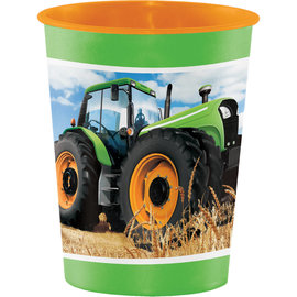 Tractor Time Favor Cup, 16oz