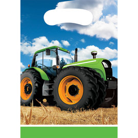 Tractor Time Loot Bags, 8ct