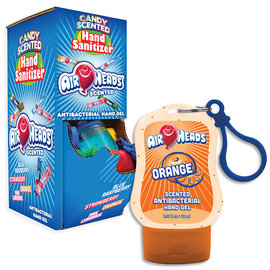 Air Head Scented Clip-On Hand Sanitizer- 4 Assorted Flavors