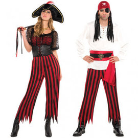 Unisex Pirate Pants- Adult Standard