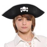 Child Pirate Hat- Black