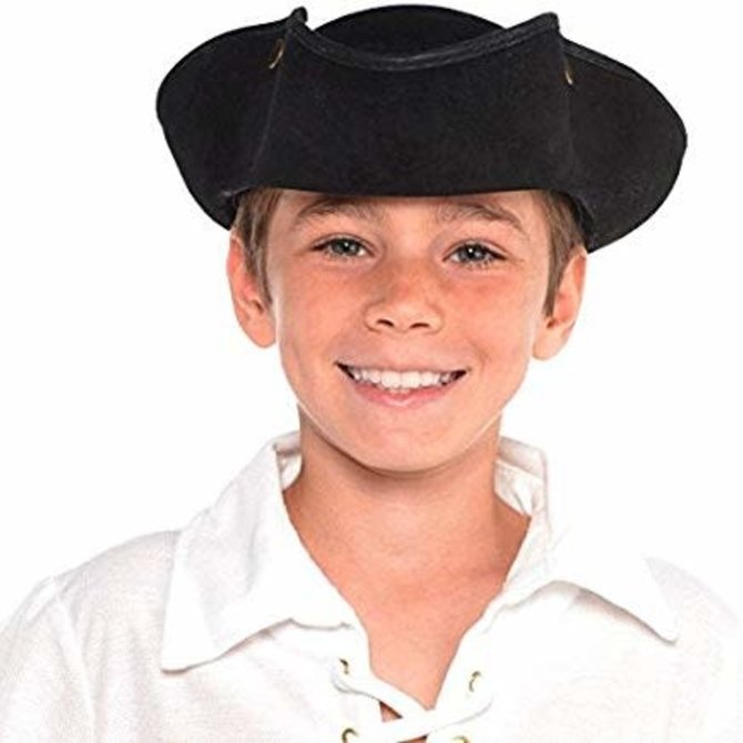Deluxe Tricorn Pirate Hat- Child