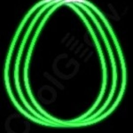 """Glow Necklace Green, 22""""- 50ct"""