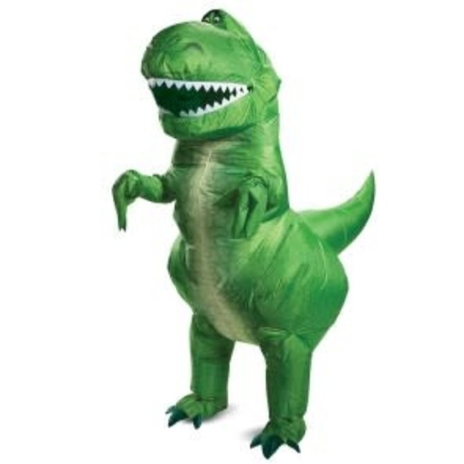 Adult Disney Toy Story 4- Rex Inflatable (#294)
