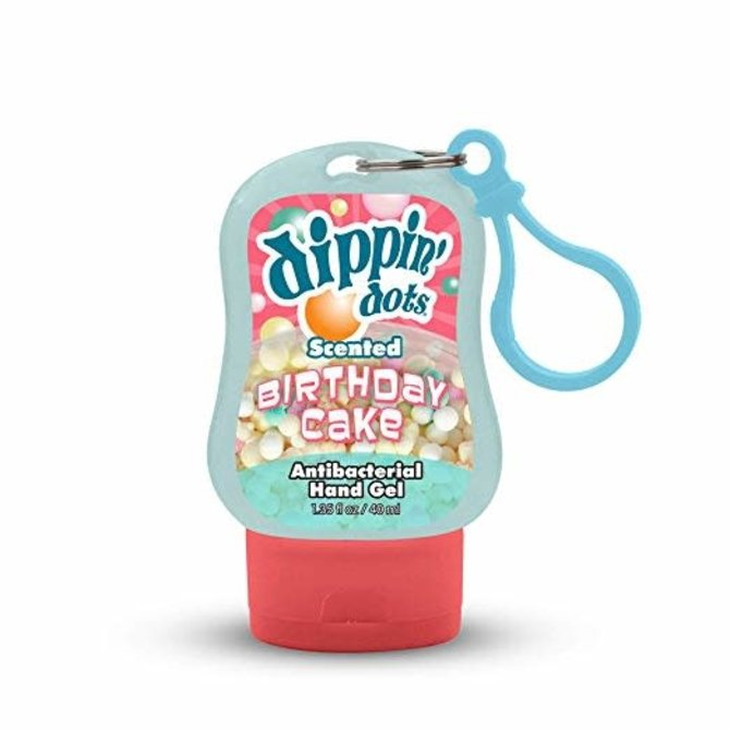Dippin' Dots Scented Clip-On Hand Sanitizer- 4 Assorted Flavors