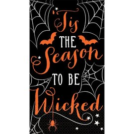 Tis the Season to be Wicked Guest Towels, 16ct