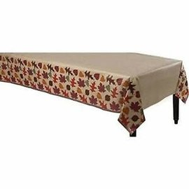 """Autumn Traditions Paper Table Cover, 54"""" x 108"""""""