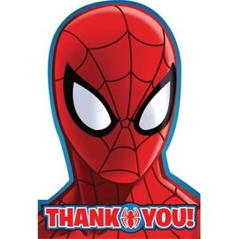 Spider Man Thank You Cards, 8ct