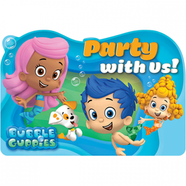 Bubble Guppies Invitations, 8ct- Clearance