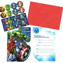 Marvel Avengers Invitations, 8ct