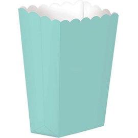Popcorn Box, Large- Robin's Egg Blue 10ct