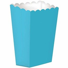 Popcorn Box, Large- Caribbean Blue 10ct