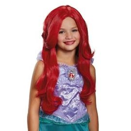 Child Disney Ariel Deluxe Wig
