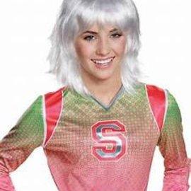 Child Addison Platinum Z-O-M-B-I-E-S Wig