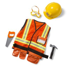 Construction Worker Role Play Costume