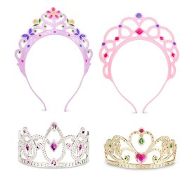 Dress-Up Tiaras, 4ct