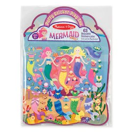Puffy Sticker Play Set- Mermaid