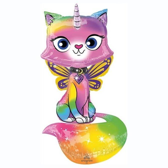 """44"""" Unicorn Butterfly Kitty Airwalker"""
