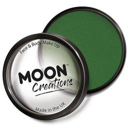 Army Green – Moon Creations Pro Face & Body Makeup Cake Pot, 36g