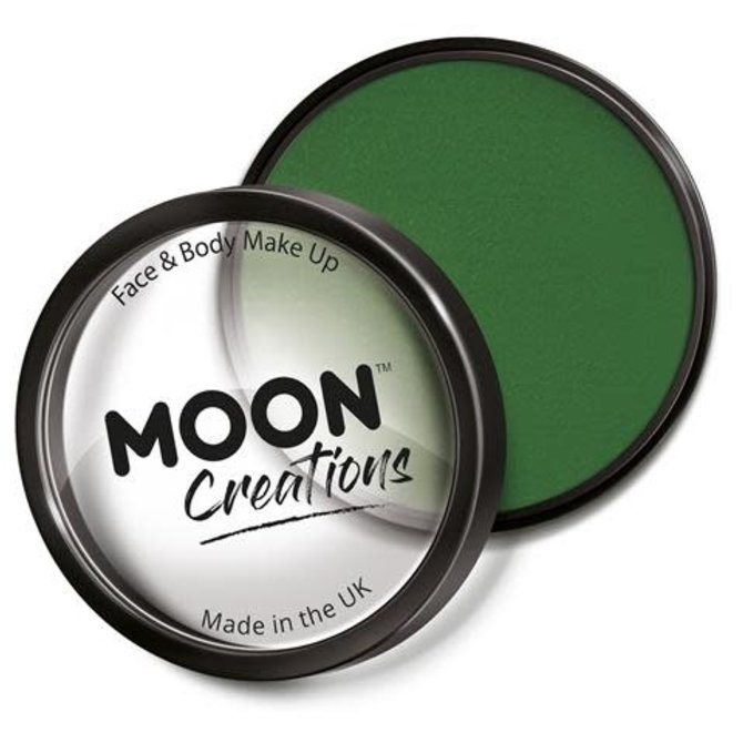 Army Green – Moon Creations Pro Face & Body Makeup Cake Pot, 36g