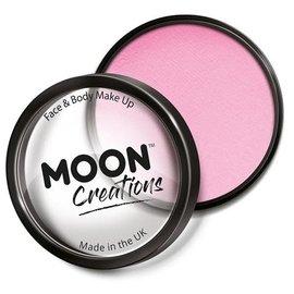 Light Pink- Moon Creations Pro Face & Body Makeup Cake Pot, 36g