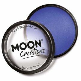Royal Blue- Moon Creations Pro Face & Body Makeup Cake Pot, 36g