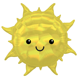 """Iridescent Sun Holographic Balloon, 27"""" (#59)"""