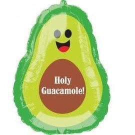 """Holy Guacamole Avocado Balloon, 27"""" (#38)"""