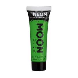 Intense Green- Moon Glow Neon UV Face & Body Paint, 0.42oz