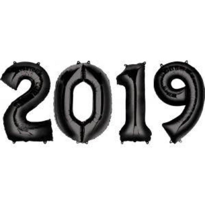 "2019 Number Bunch - Black, 34"""