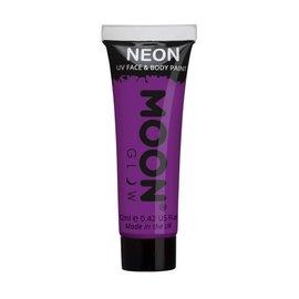 Intense Purple- Moon Glow Neon UV Face & Body Paint, 0.42oz
